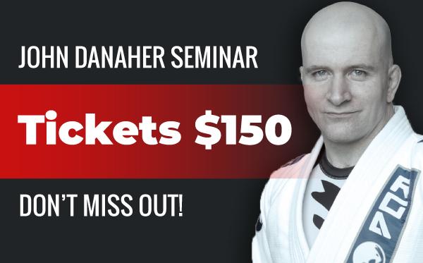 John Danaher | Seminar at John Donehue Gym